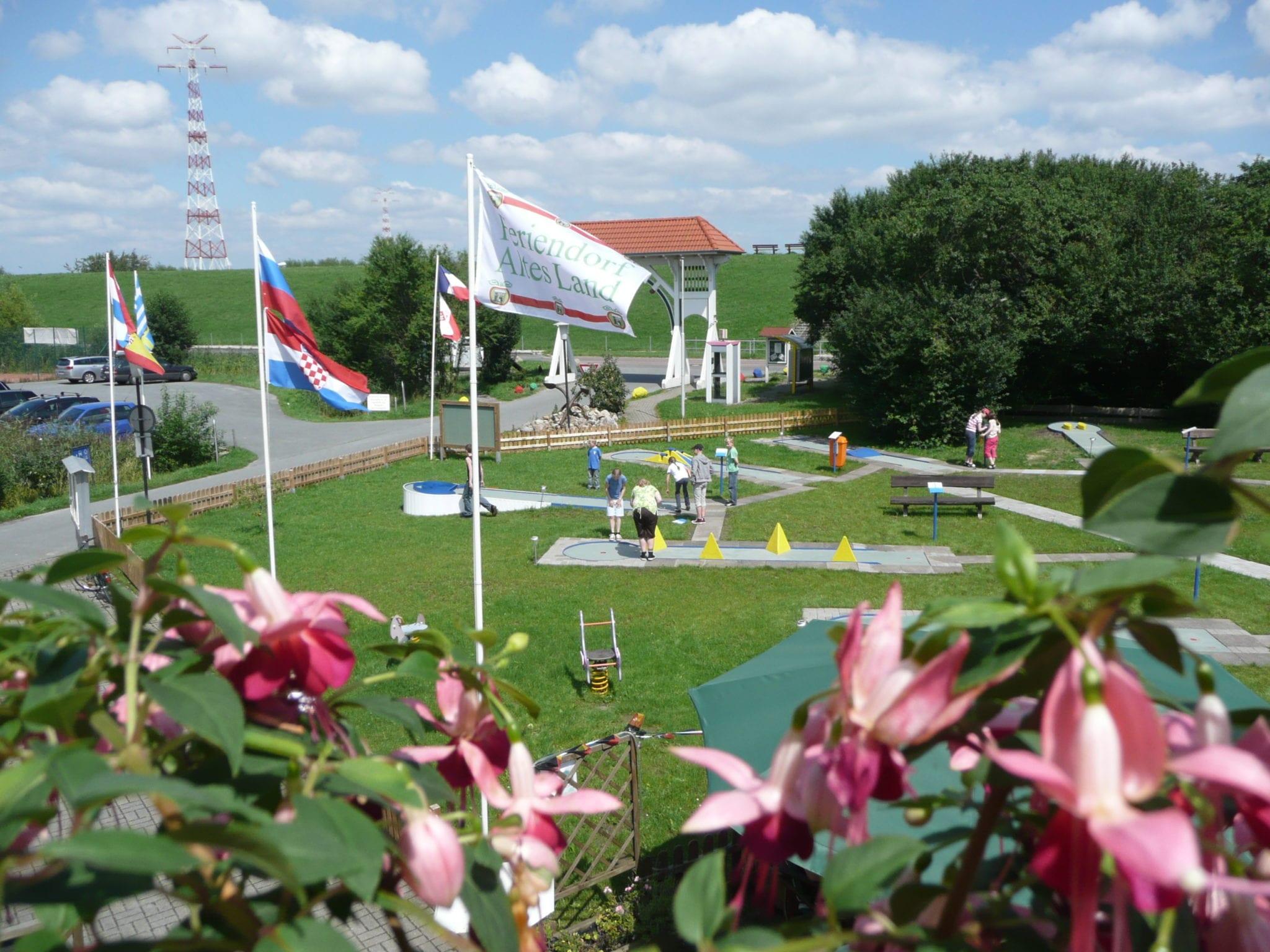 Feriendorf Altes Land - Minigolfanlage