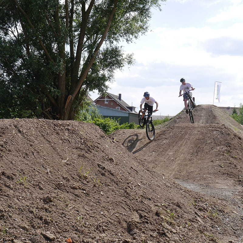 Bikepark in Hollern-Twielenfleth