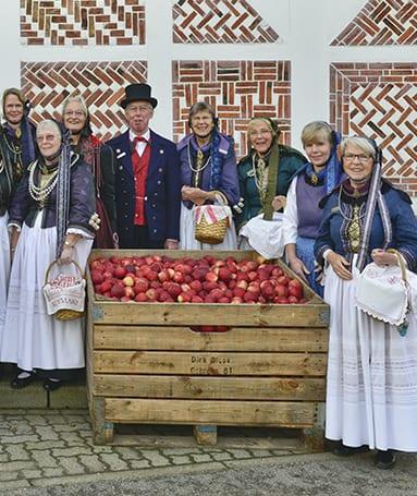 Gästeführer im Alten Land