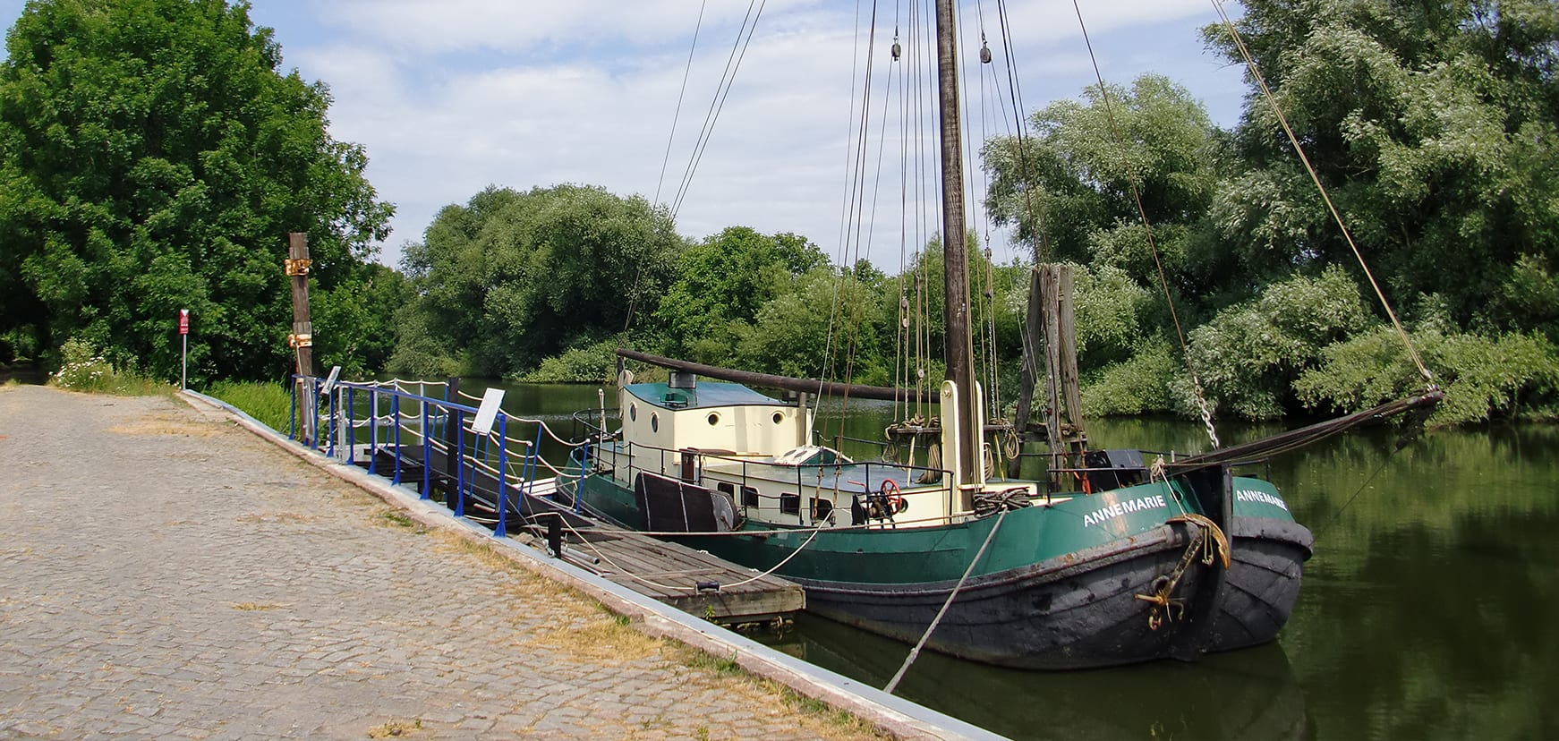 Borsteler Hafen Tjalk Annemarie