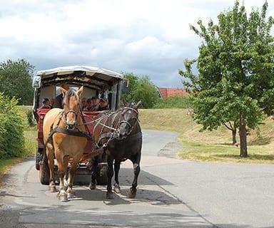 Kutschfahrt durch das Alte Land