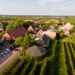 Obsthof Lefers im Alten Land - Jork Luftaufnahme