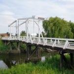 Hogendiekbrücke in Steinkirchen im Alten Land
