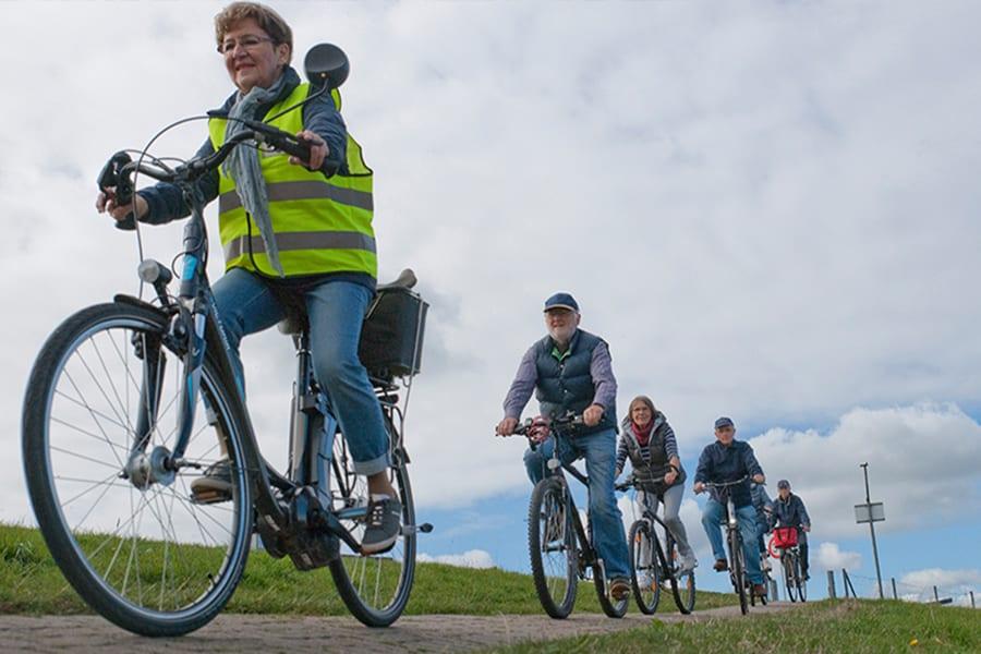 Altländer Gästeführer per Fahrrad